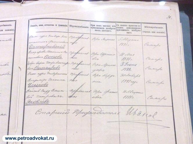 Помощник присяжного поверенного (адвоката) Владимир Ульянов - Ленин